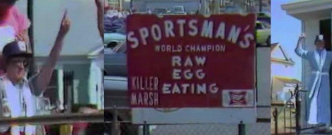 Danny Killer Marsh Eating Raw Eggs