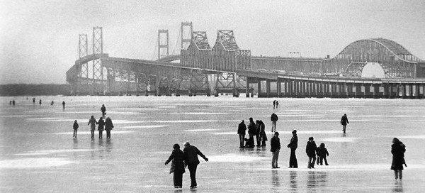 Eastern Shore Secrets: Winter of 1977 at the Chesapeake Bay Bridge on Maryland's Eastern Shore