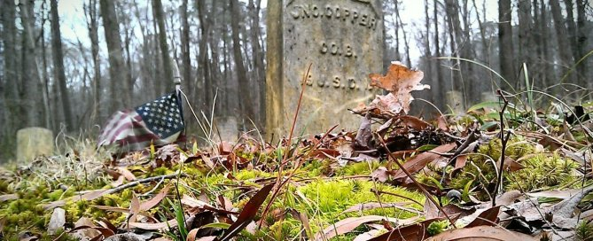 United States Colored Troop Grave in Unionville on Maryland's Eastern Shore