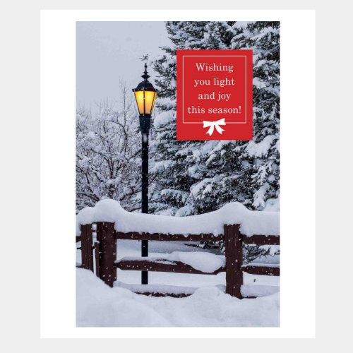Light of the Season Holiday Card