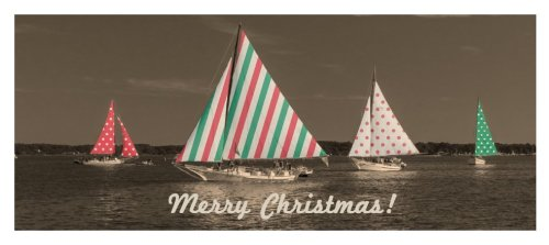 The Skipjacks Christmas Card from Secrets of the Eastern Shore