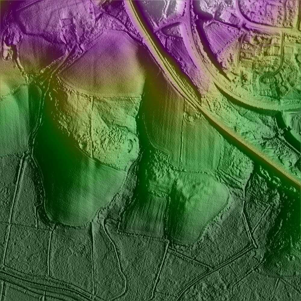lidar Wilting Farm East Sussex