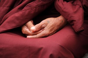 monk hand mudra by terimakasih0 on pixabay
