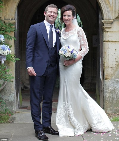 Dermot O'Leary and Dee Koppang marry after ten years together