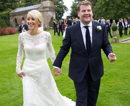 James Corden married long-term girlfriend in September
