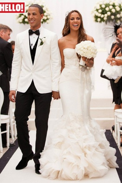 Rochelle Wiseman and Marvin Humes wed in August 2012