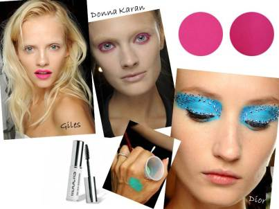 Little Lab have all the Summer Beauty Trends - bright