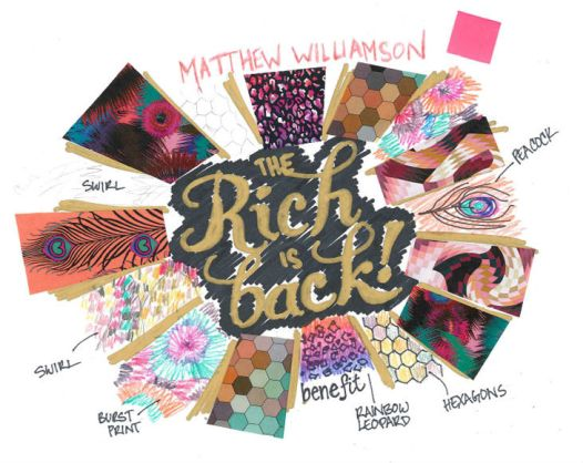 'The Rich is Back' for Benefit by Matthew Williamson