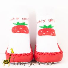 Strawberry Delight Moccassins