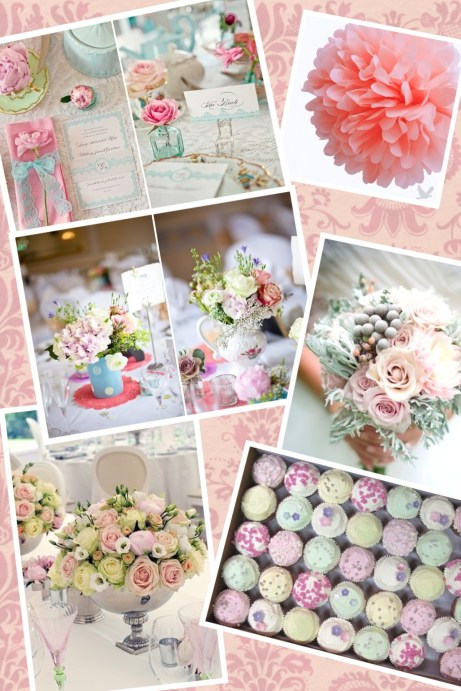 Wedding Style - Vintage Tea Party Theme