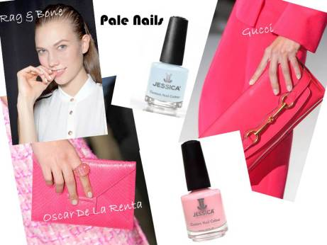 Little Lab Summer Nail Trends - Pale