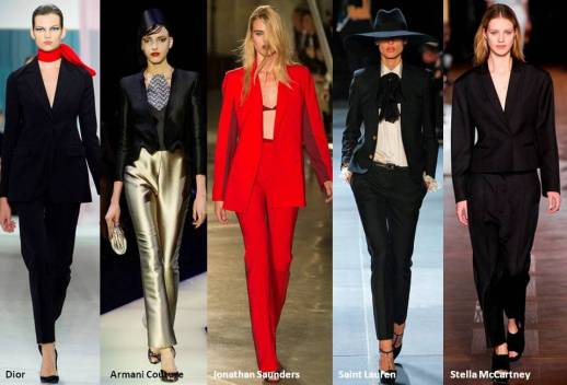 Masuline Tailoring with a Feminine Touch