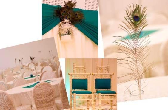 Wedding Style ♥ Peacock Wedding Theme