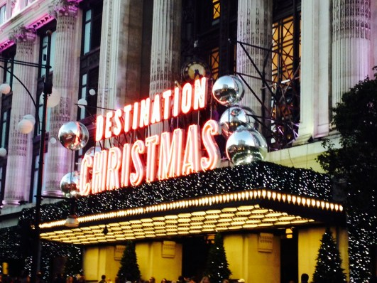Selfridges is set to be Destination Christmas!