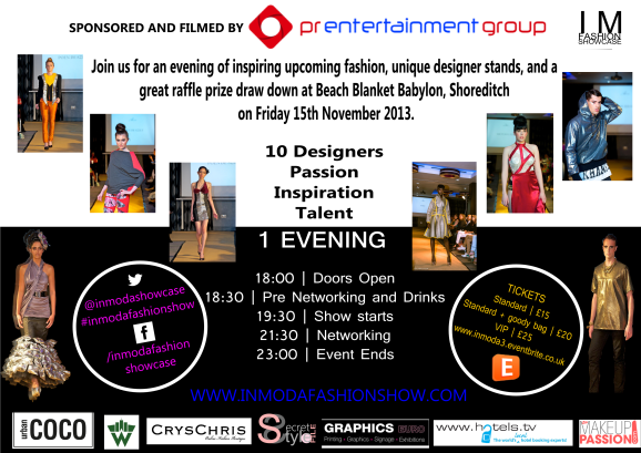 Win Tickets to the In Moda Fashion Show!