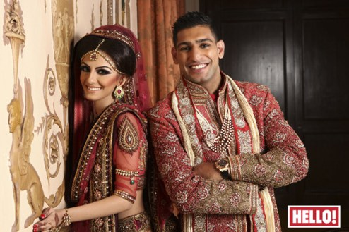Amir Khan and Faryal Makhdoom Wedding