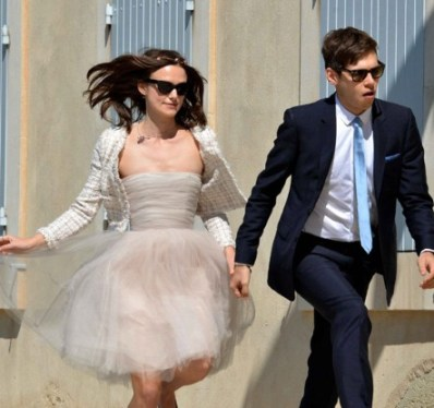 Kiera Knightley and James Righton Wedding