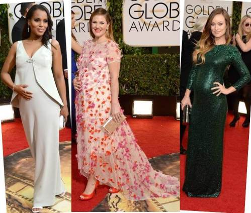 Baby Bumps - Kerry Washington, Drew Barrymore and Olivia Wilde
