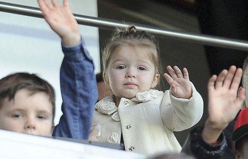 Mini Style File ♥ Harper Beckham