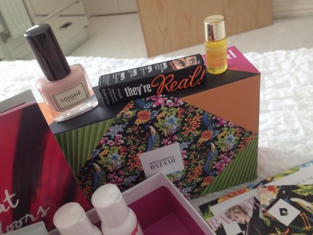 The May Harper's Bazaar Birchbox Review ♥