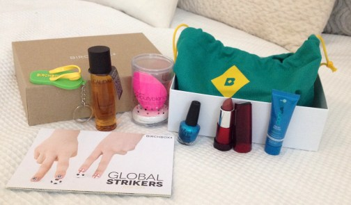 Global Strikers ♥ June Birchbox Review