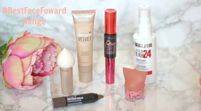 Maybelline's #BestFaceForward Spring Summer Collection