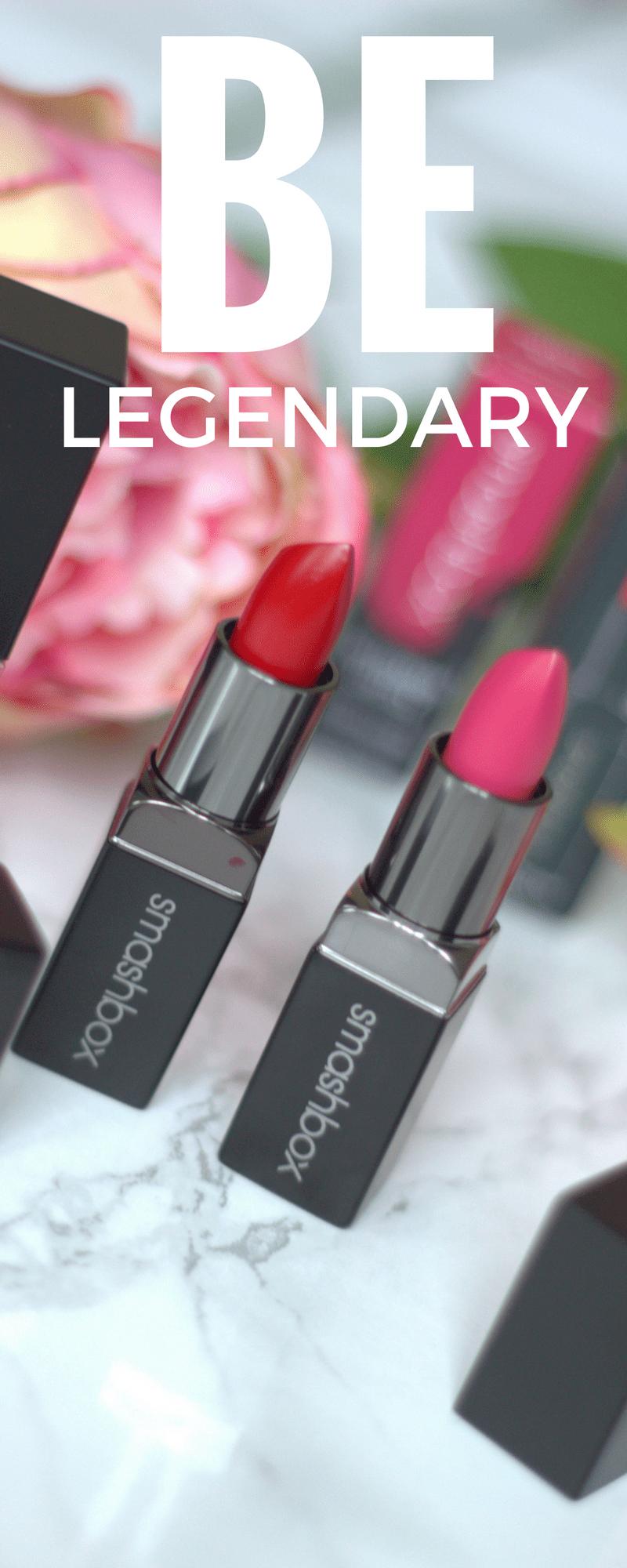 New Lipsticks from SMASHBOX