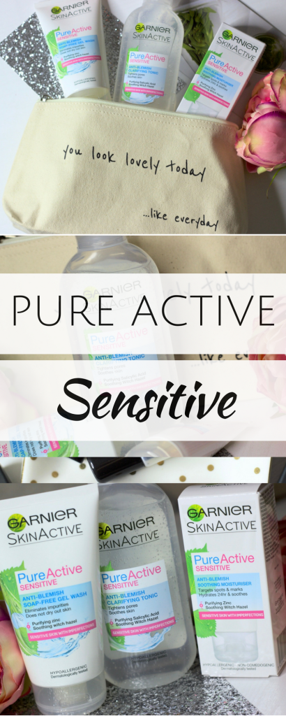 Garnier Pure Active Sensitive Range ♥