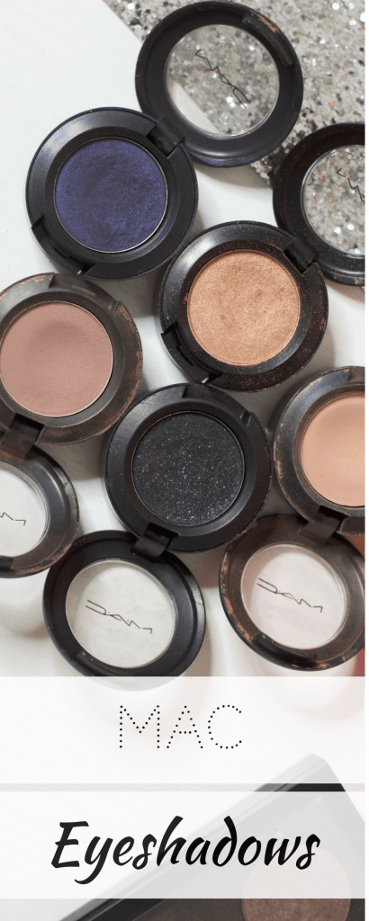 My MAC Eyeshadow Collection