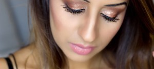 My Rose Gold Glitter Makeup Tutorial
