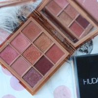 HUDA BEAUTY Medium Nude Obsessions Palette Review ♥