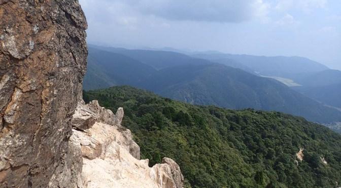 【登山】赤坂山・三国山 201608酷暑