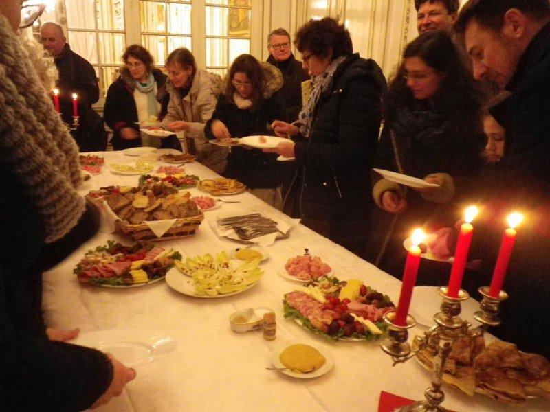 24 janvier: pot chez les orthodoxes