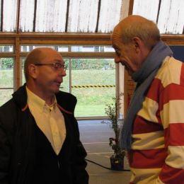 Messe de rentrée 2015: Philippe guihaire et Yves.