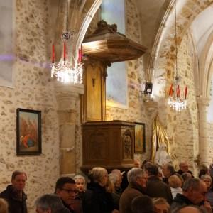 Eglise rénovée: béndiction du 14/01/2018