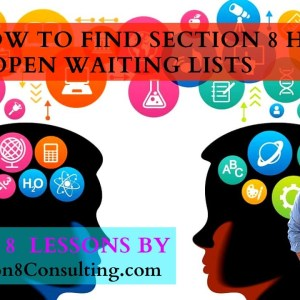 How to Find Section 8 Housing & The Section 8 Waiting List