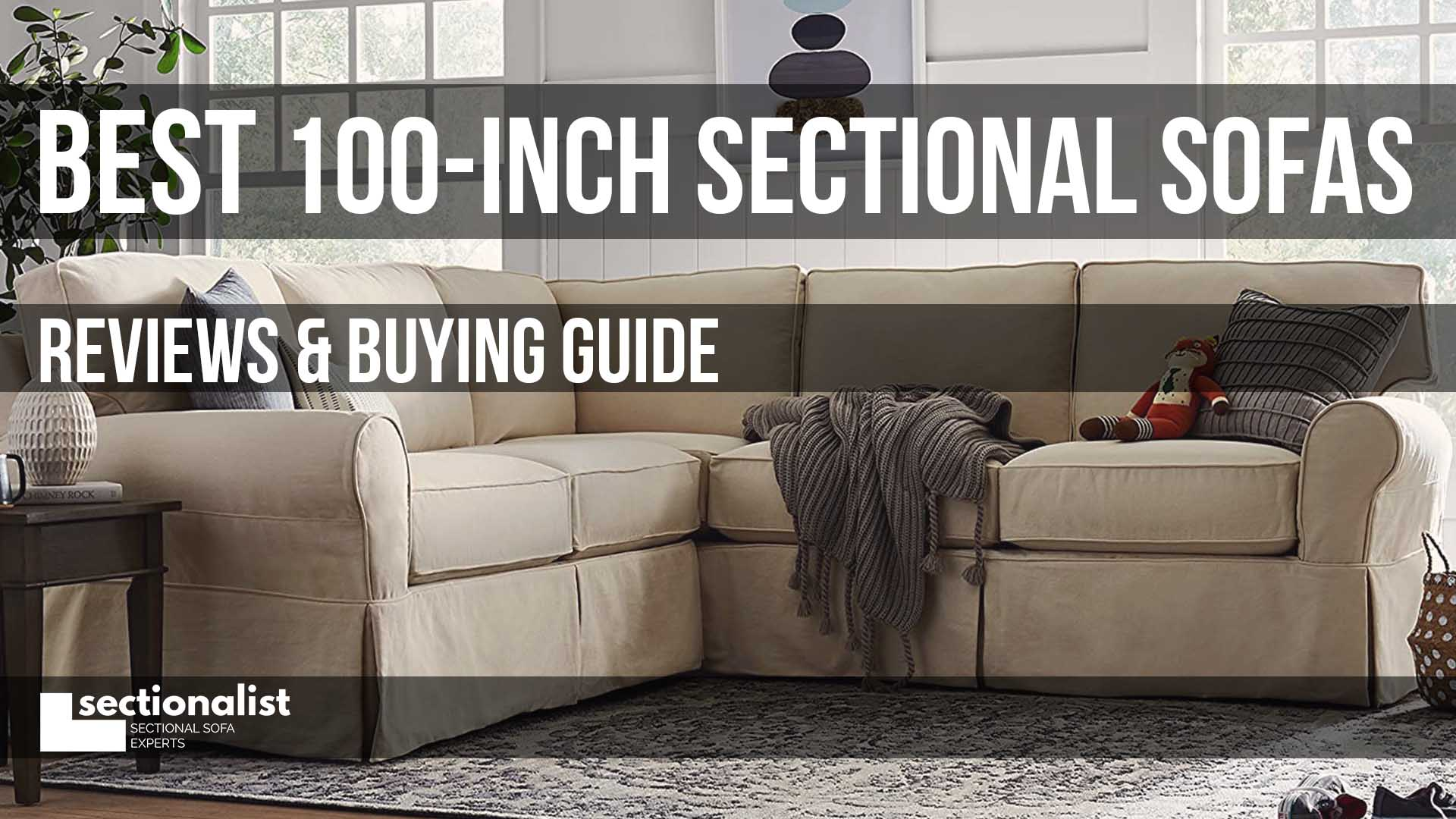 best 100 inch sectional sofas 2021