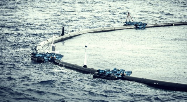 maritime-technologies, maritime-news - Ocean Cleanup System - Ocean Cleanup to Redeploy Its System in June 2019