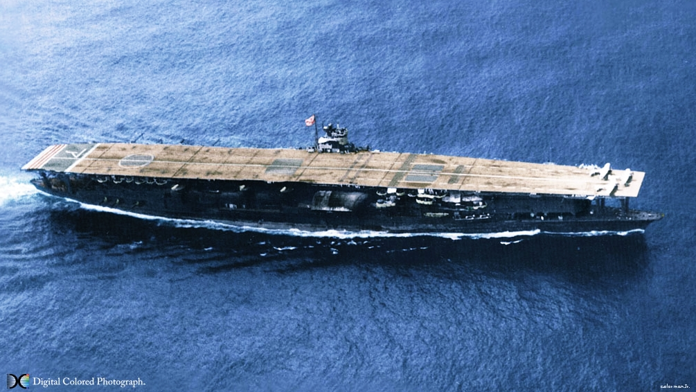 maritime-research, maritime-news - Japanese war ship Akagi wreck found - Second Japanese Aircraft Carrier Wreck Discovered