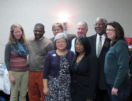 Rev. June with the Search Committee