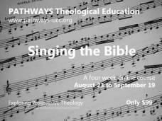 Singing the Bible