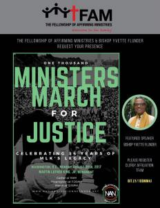 Ministers March for Justice 1