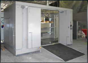 Securall  Chemical Storage Buildings Hurricane and