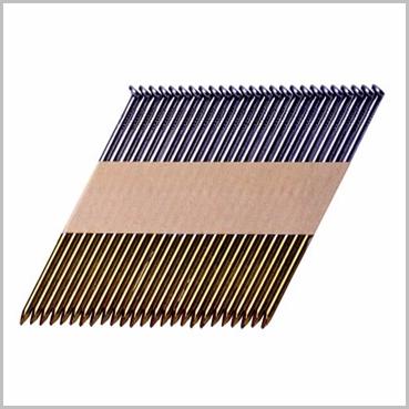 Paper Tape Strip Framing Nails Gas Packs 34 Degree PASLODE