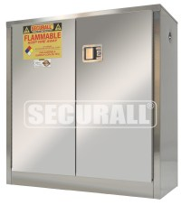 SECURALL: Stainless Steel Storage Cabinets for Flammables ...