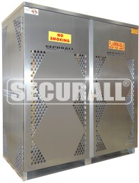SECURALL - Cylinder & Tank Storage Cabinets, Propane Gas ...