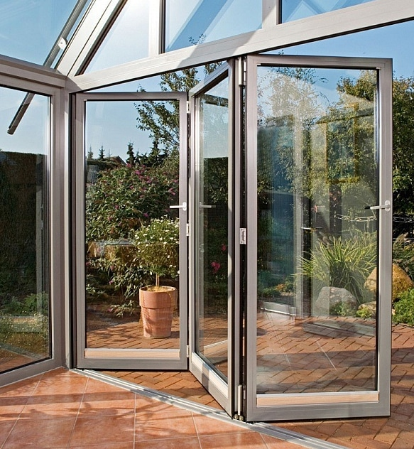 Security folding doors London