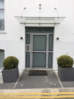 Communal entrance doors from Secure House