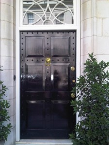 security front door Belgravia