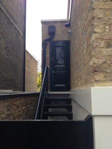steel security door  222